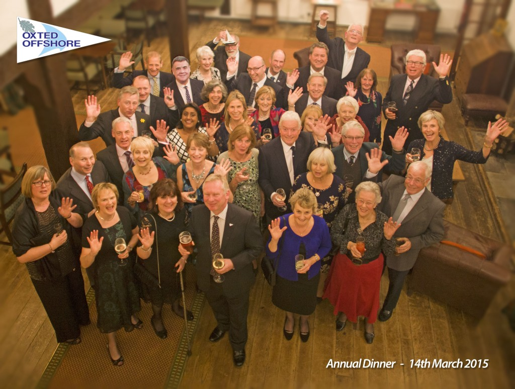 Oxted Offshore Annual Dinner March 14 2015