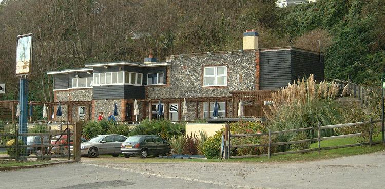 Coastal View Pub Food