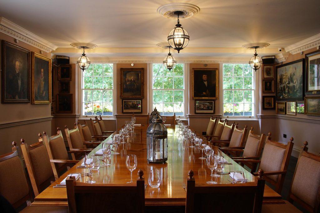 The Pickle Room at the Trafalgar Tavern